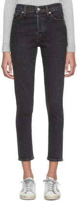 Levi's Levis Black Wedgie Skinny Jeans