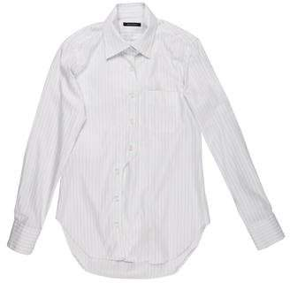 Billy Reid Striped Woven Shirt