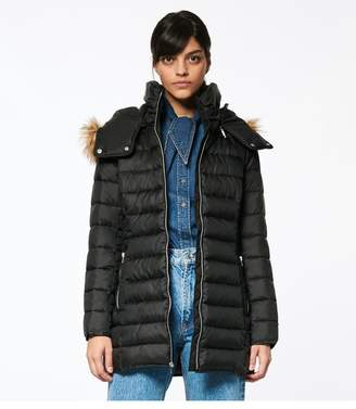 Andrew Marc Eleanor Zip Up Puffer
