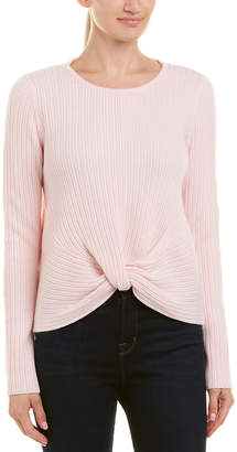 Design History Cashmere Front Twist Sweater