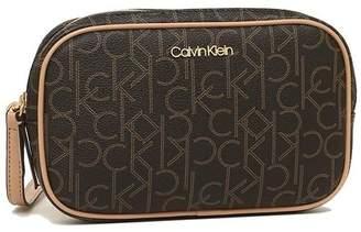 Calvin Klein (カルバン クライン) - AXES カルバンクライン ショルダーバッグ アウトレット レディース CALVIN KLEIN 37109153 170 ブラウン