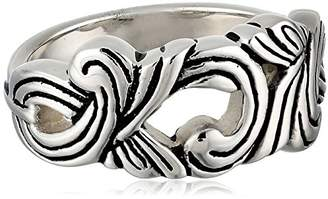 Barse Silhouette Sterling Ornate Ring