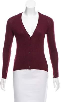 Prada Cashmere and Silk-Blend Cardigan