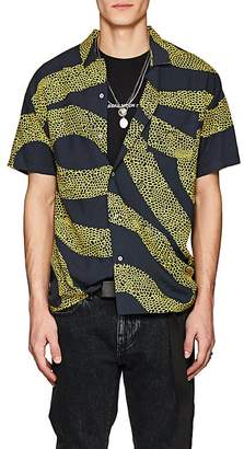 Double Rainbouu Men's Amnesia Abstract-Print Shirt