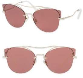 Miu Miu 62MM Mirrored Butterfly Sunglasses