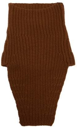 Prada - Knitted Cashmere Snood - Mens - Brown