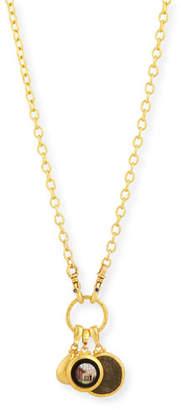 Gurhan Antiquities Spell Mixed Charm Necklace
