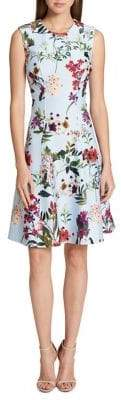 Tommy Hilfiger Wildflower Scuba Dress