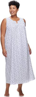 Croft & Barrow Plus Size Long Nightgown