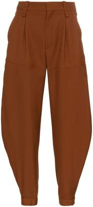 Chloé tapered wool trousers