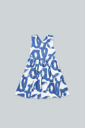 Cos A-LINE DRESS WITH GATHERED DETAIL