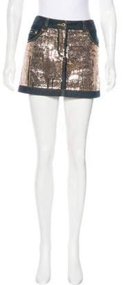 Dolce & Gabbana Vintage Embellished Skirt