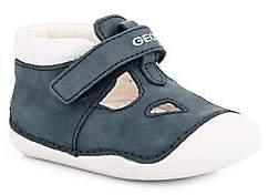 Geox Baby Boy's Tutim Leather Sneakers