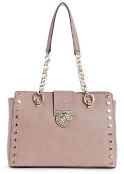000ecbf69055 at The Bay · GUESS Marlene Studded Satchel