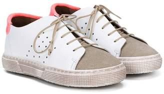 Pépé perforated sneakers