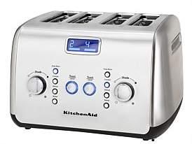 KitchenAid Kmt423 Artisan 4 Slice Toaster Stainless Steel