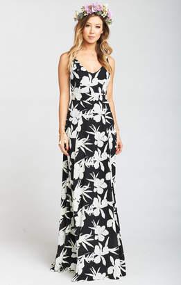 Show Me Your Mumu Jenn Maxi Dress ~ Lily Collins