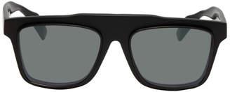 Yohji Yamamoto Black Thick Sunglasses