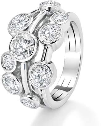 Boodles Medium Raindance Platinum Ring