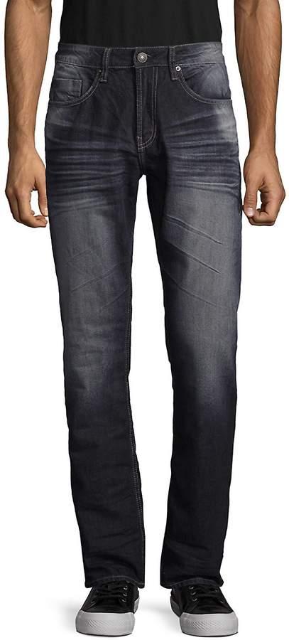 BUFFALO David Bitton Men's Six Slim Straight Leg Jeans