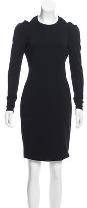 Jason Wu Cutout Long Sleeve Dress