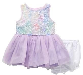Pippa & Julie Multi-Color Lace Tutu Dress (Baby Girls 0-9M)