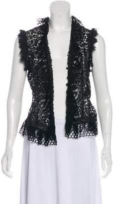 Ralph Lauren Black Label Lace Evening Jacket