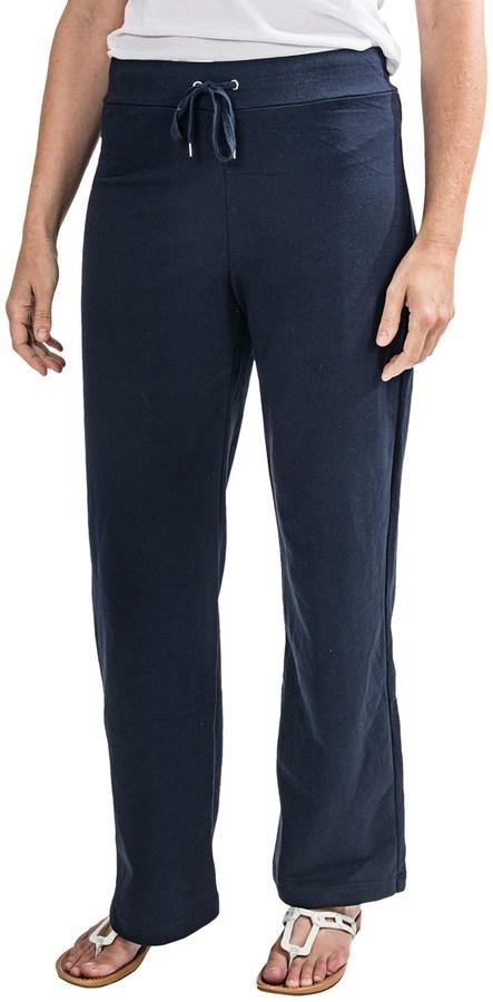 Cotton-Blend Knit Sweatpants (For Women)
