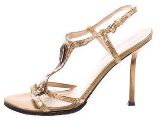 Charles Jourdan Embellished High-Heel Sandals