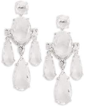 Kate Spade Crystal Cascade Chandelier Earrings