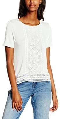4c2eb1a3ae4c7 New Look Women s Crochet Front Plain Short Sleeve Tops
