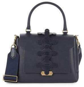 Anya Hindmarch Small Bathhurst II Leather Satchel