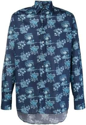 Etro floral print shirt