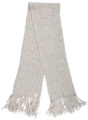Acne Studios Alpaca-Blend Rib Knit Scarf