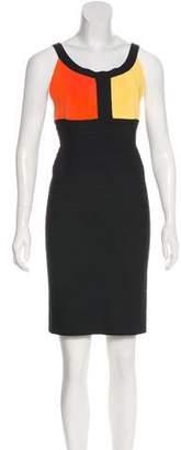 Herve Leger Pomy Mini Dress