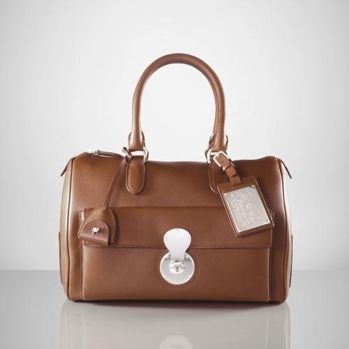 Ralph Lauren Boston Calfskin Bag