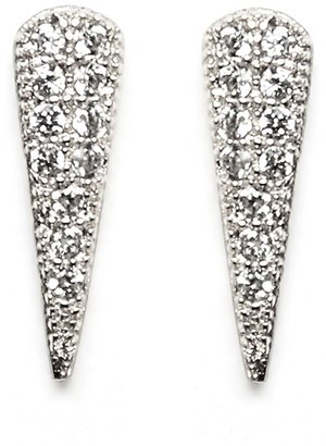 Women's Melanie Auld Pave Cubic Zirconia Spike Stud Earrings $48 thestylecure.com