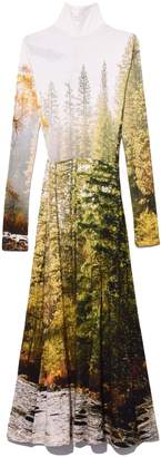 R 13 Forest River Turtleneck Dress in Multi