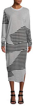 Diesel D-Loves Wool Midi Dress