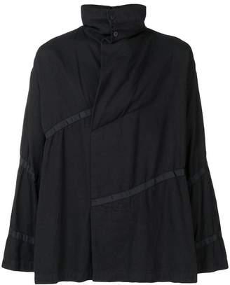 Issey Miyake striped lightweight jacket