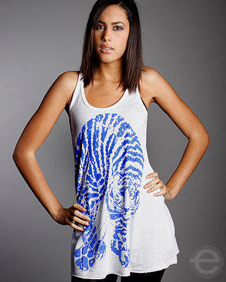 Lauren Moshi Tiger Swing Tank