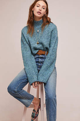 Moth Sparkle Knit Turtleneck