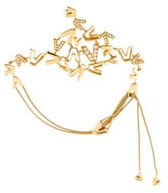 Versace V-Divine Diamond Bracelet