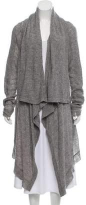 Helmut Lang Open-Knit Open-Front Cardigan