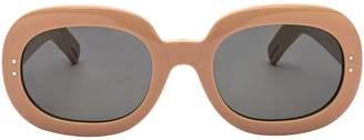 Gucci Oval Frame Sunglasses