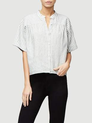 Frame Stripe PJ Top