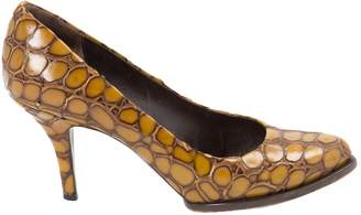 Givenchy Yellow Leather Heels