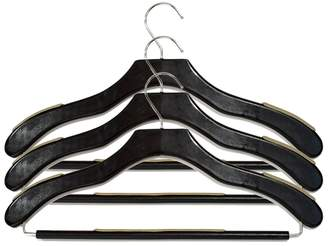Neatfreak 3-pack Nonslip Wood Cothes Hanger