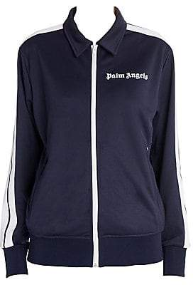 Palm Angels Women's Collared Side Stripe Track Jacket