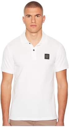 Belstaff Stannet Cotton Pique Polo Shirt Men's Clothing